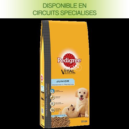 Croquettes Professional nutrition 15kg pour chien junior
