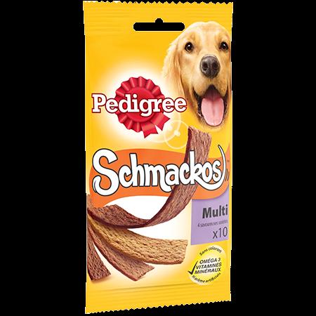 Récompenses Schmackos™ Multi x10 pour chien