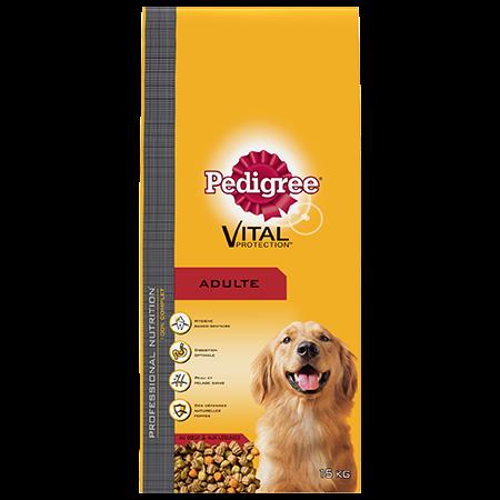 Croquettes Professional nutrition au bœuf 15kg chien adulte