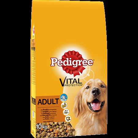 Croquettes à la volaille et aux légumes 10kg chien adulte