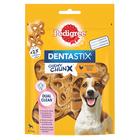 PEDIGREE® Dentastix™ Chewy Chunx 5-15kg saveur poulet