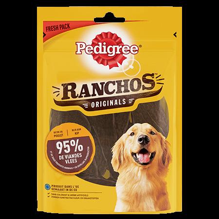 Récompenses Ranchos™ Originals riches en viande pouletpour chien