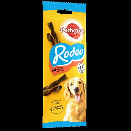 Récompenses Rodeo™ au bœuf x4 pour chien