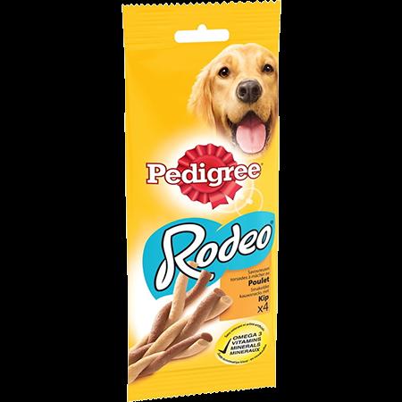 Récompenses Rodeo™ au poulet x4 pour chien