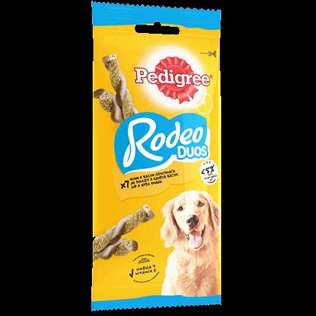 Récompenses Rodeo™ Duos au poulet et saveur bacon x7 pour chien