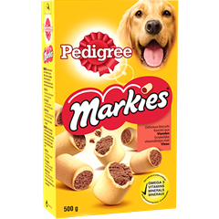 Pedigree MARKIES™ Original fourrés aux viandes 500g