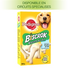 PEDIGREE® BISCROK au lait 350g