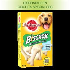 Biscuits Biscrok™ au lait pour chien