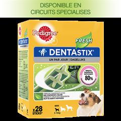 PEDIGREE DENTASTIX™ FRESH multipack pour Petits Chiens 28 sticks