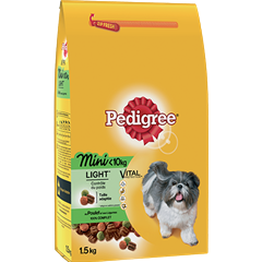 Croquettes Mini Light 1,5kg chien adulte <10kg