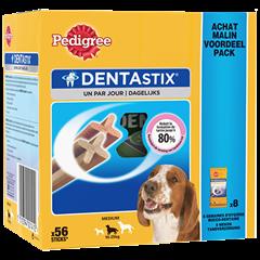 Pedigree DENTASTIX™ multipack Pour Moyens Chiens 56 sticks