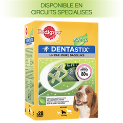 Pedigree DENTASTIX™ FRESH multipack pour Moyens Chiens 28 sticks