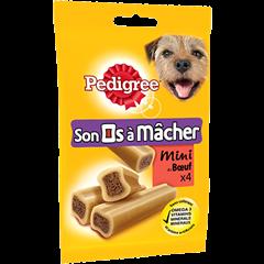 Récompenses Son os à Mâcher™ Mini au bœuf pour petit chien