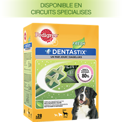 Pedigree DENTASTIX™ FRESH multipack pour Grands Chiens 28 sticks