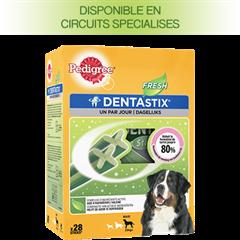 PEDIGREE DENTASTIX™ FRESH multipack pour Grands Chiens 28 sticks