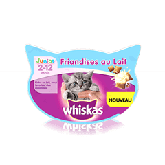 Whiskas® Friandises au Lait Junior