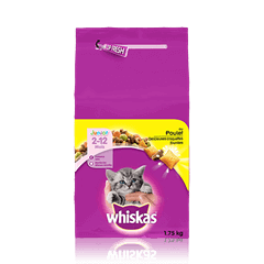 WHISKAS® Poulet Junior 1,75kg