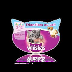 Friandises au Lait pour Chaton WHISKAS<sup>®</sup>