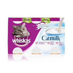 WHISKAS<sup>&reg;</sup> Lait pour chat 3x200ml