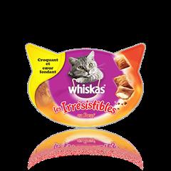WHISKAS® Les Irrésistibles™ au Bœuf