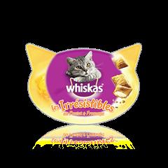 WHISKAS® Les Irrésistibles™ au Poulet et Fromage