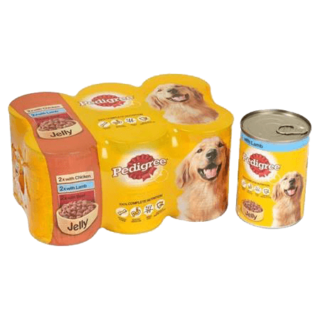 PEDIGREE® Tins Mixed Selection in Jelly