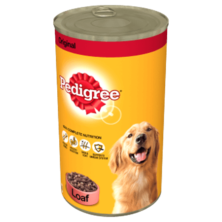 PEDIGREE® Tin Original in Loaf