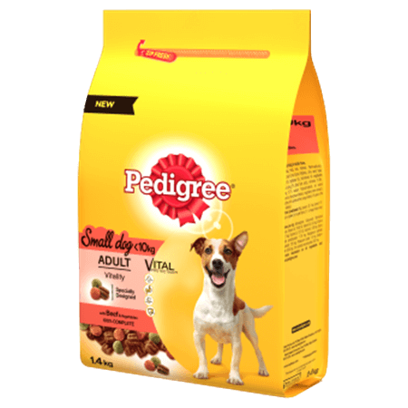 PEDIGREE® Small Dog Complete Dry with Beef and Vegetables