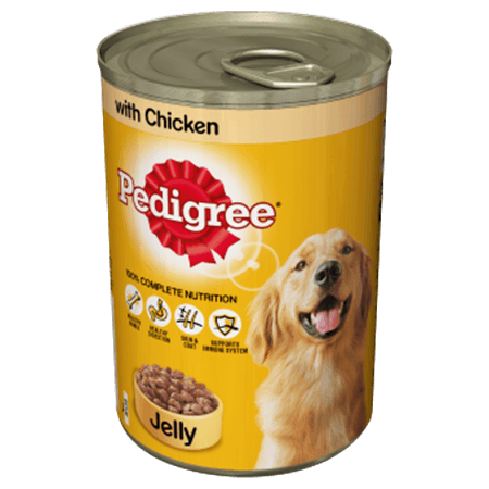 PEDIGREE® Tin With Chicken in Jelly
