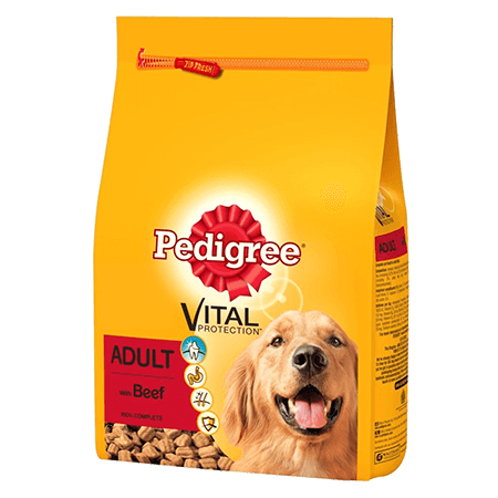 PEDIGREE® Complete Dry With Beef