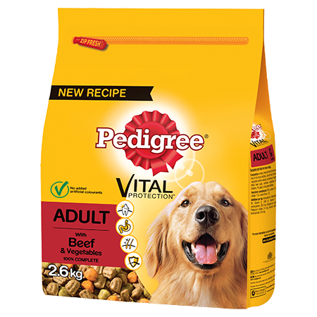 PEDIGREE® Complete Dry With Beef & Vegetables
