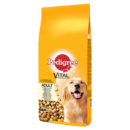 PEDIGREE® Complete Dry With Chicken & Vegetables