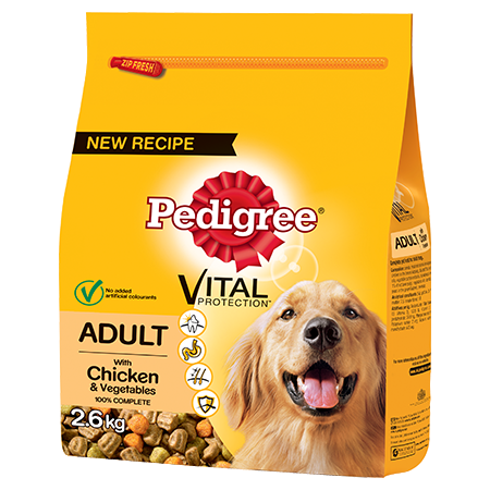 PEDIGREE® Complete® Dry With Chicken & Vegetables