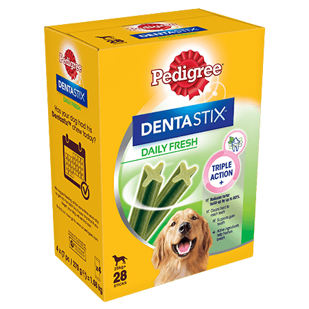 PEDIGREE® Dentastix<sup>®</sup> Fresh Large 28x