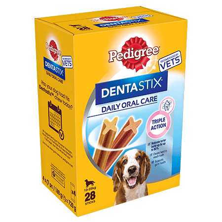 PEDIGREE® Dentastix<sup>®</sup> Medium 28x