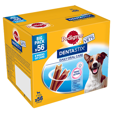 PEDIGREE® Dentastix<sup>®</sup> Small 56x
