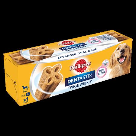 PEDIGREE® Dentastix<sup>®</sup> Twice Weekly Large Dog Dental Chew 1pce