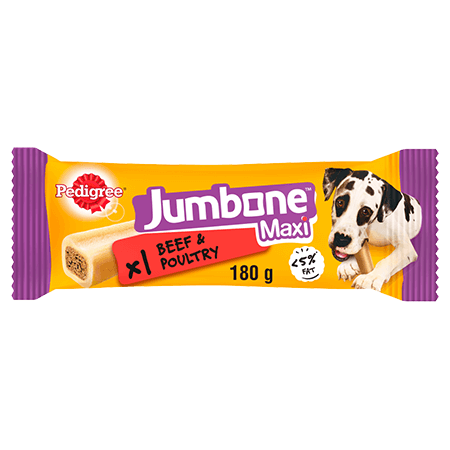 PEDIGREE® Jumbone™ Beef and Poultry Maxi 180g