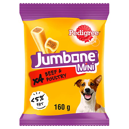 PEDIGREE® Jumbone™ Beef and Poultry Mini 160g