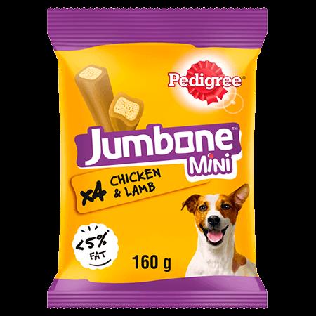 PEDIGREE® Jumbone™ Chicken and lamb Mini 160g