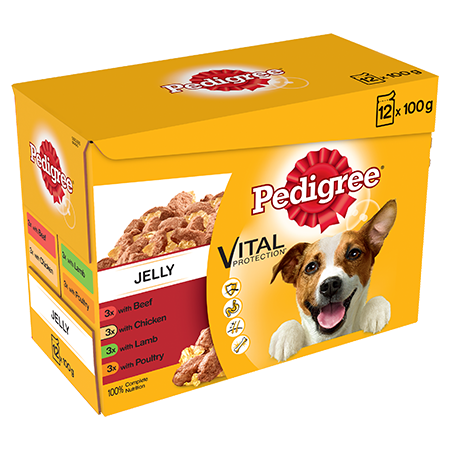 PEDIGREE® Pouches Favourites in Jelly