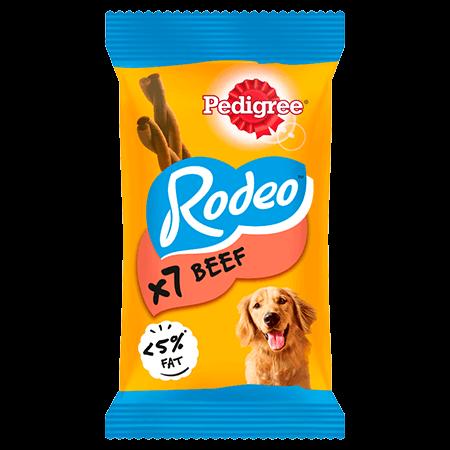 PEDIGREE® Rodeo™ Beef 123g