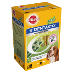 Pedigree Dentastix<sup>®</sup> Fresh Medium