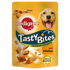 PEDIGREE® Tasty Bites Crunchy Pockets with Chicken