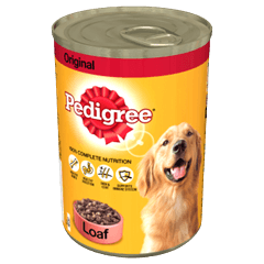 Pedigree Tin Original in Loaf