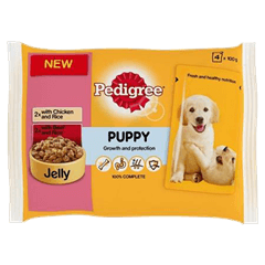 Puppy Pouches Meat Selection in Jelly