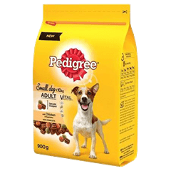 Pedigree Small Dog Complete Dry with Beef and Vegetables