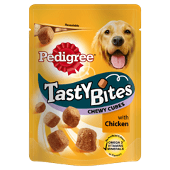 Pedigree Tasty Bites Chewy Cubes with Chicken