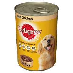 PEDIGREE Tin With Chicken in Gravy