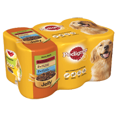 PEDIGREE® Tins Meaty Meals in Jelly